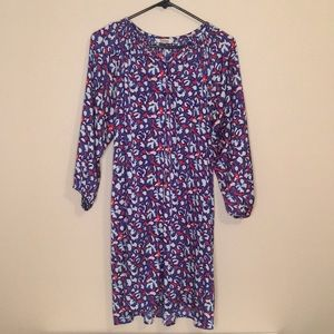 Tucker Jenna Shirt Dress w Smocked detail Size M